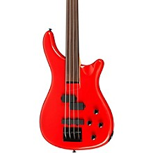 LX200BF Fretless Series III Electric Bass Guitar Candy Apple Red