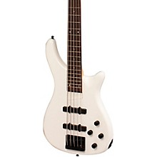 LX205B 5-String Series III Electric Bass Guitar Pearl White