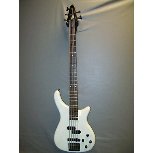 Rogue LX205B White Electric Bass Guitar