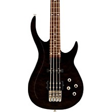 LX400 Series III Pro Electric Bass Guitar Transparent Black