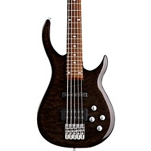 LX405 Series III Pro 5-String Electric Bass Guitar Transparent Black