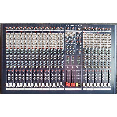 Soundcraft LX7II Unpowered Mixer-thumbnail