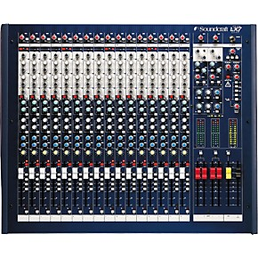 soundcraft mixer 16 channel user manual