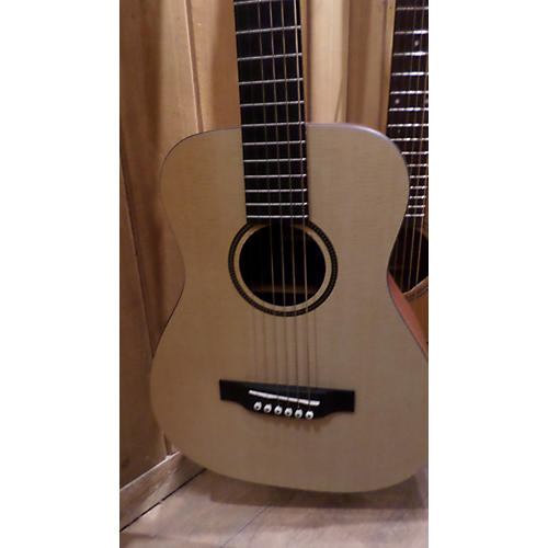 Martin LXM Left Handed Natural Acoustic Guitar-thumbnail