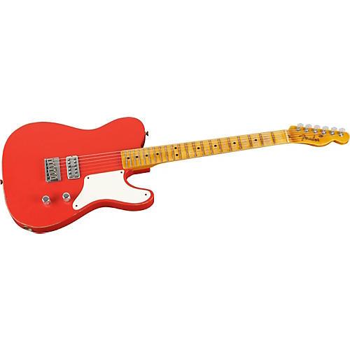 Fender Custom Shop La Cabronita Especial Relic Single Pickup Electric Guitar Fiesta Red