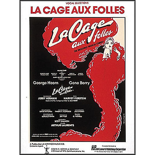 Hal Leonard La Cage Aux Folles Vocal Selections arranged for piano, vocal, and guitar (P/V/G)-thumbnail