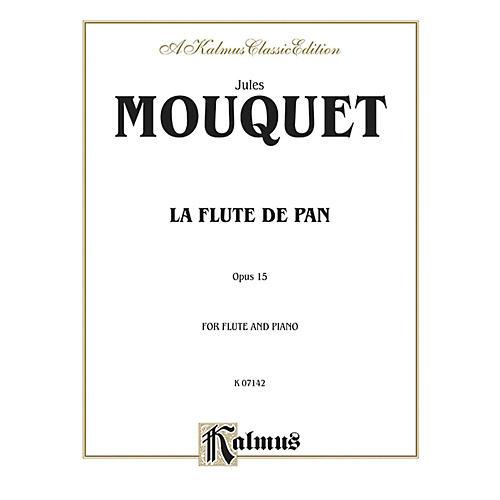 Alfred La Flute de Pan Op. 15 for Flute By Jules Mouquet Book-thumbnail