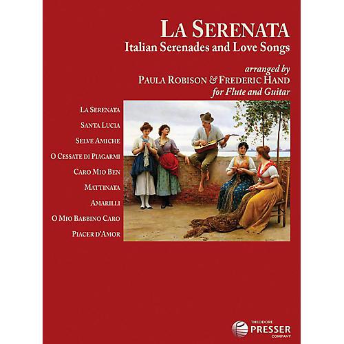 Carl Fischer La Serenata: Italian Serenades and Love Songs - Flute and Guitar-thumbnail