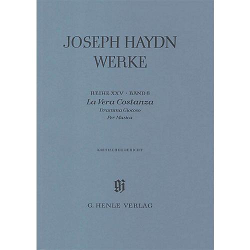 G. Henle Verlag La Vera Costanza - Dramma Giocoso per Musica Henle Edition Series Hardcover