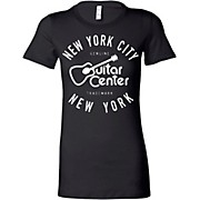 Guitar Center Ladies NYC Fitted Tee