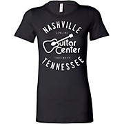 Guitar Center Ladies Nashville Fitted Tee