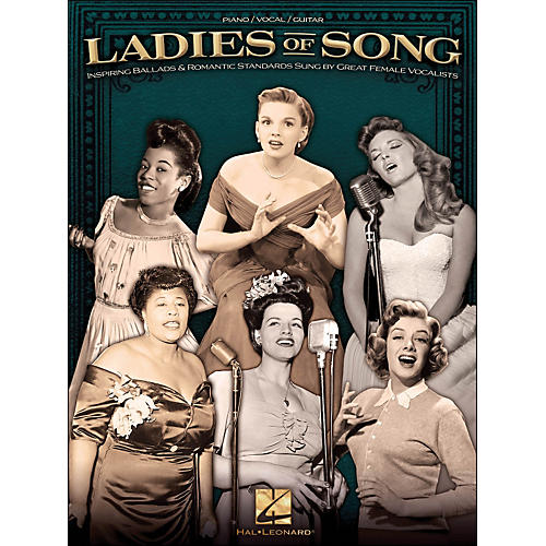 Hal Leonard Ladies Of Song arranged for piano, vocal, and guitar (P/V/G)-thumbnail