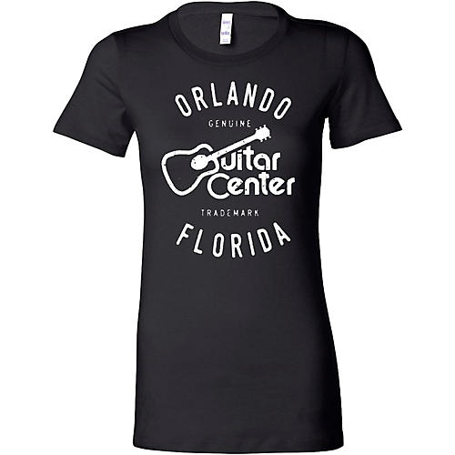Guitar Center Ladies Orlando Fitted Tee