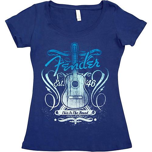 Fender Ladies Sound T-Shirt-thumbnail