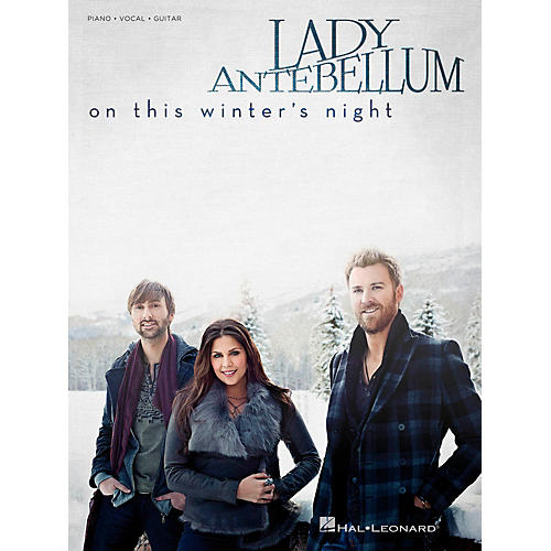 Hal Leonard Lady Antebellum - On This Winter's Night for Piano/Vocal/Vocal PVG-thumbnail