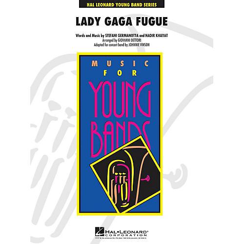 Hal Leonard Lady Gaga Fugue - Young Band Series Level 3