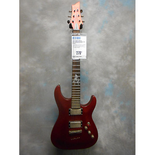 Schecter Guitar Research Lady Luck Solid Body Electric Guitar Metallic Red