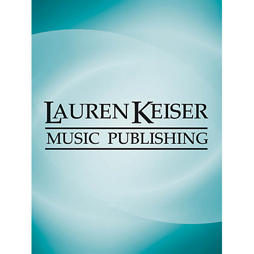 Lauren Keiser Music Publishing Lamentations (for Alto Saxophone and Orchestra) LKM Music Series  by Claude Baker