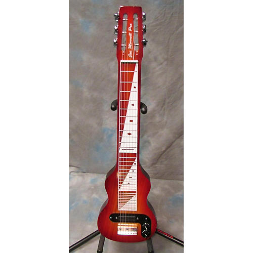 In Store Used Lap Steel Flame Red Lap Steel