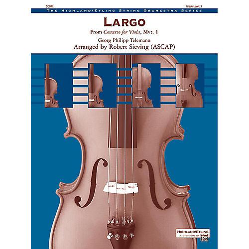 Alfred Largo String Orchestra Grade 3-thumbnail