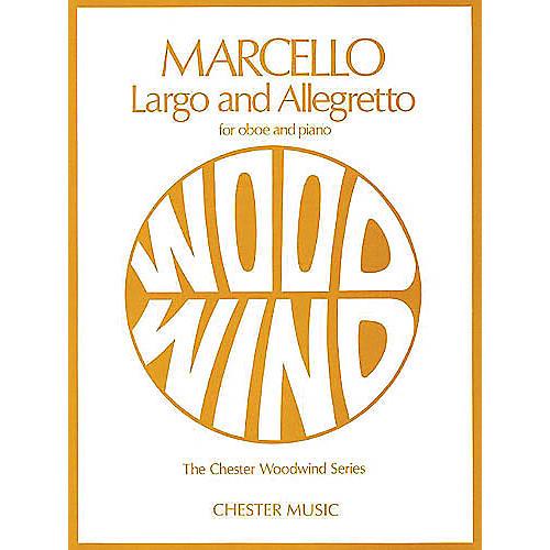 Chester Music Largo and Allegretto (for Oboe and Piano) Music Sales America Series