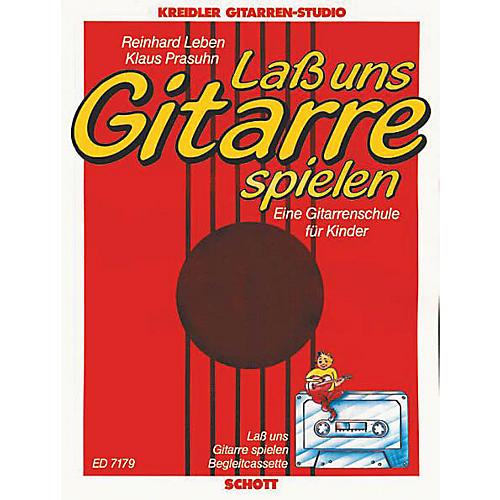 Schott Lass Uns Gitarre Spielen & Cassette Schott Series