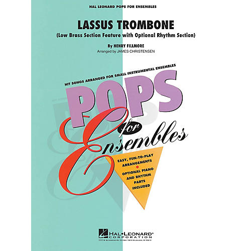 Hal Leonard Lassus Trombone (Low Brass Ensemble (opt. rhythm section)) Concert Band Level 2.5 by James Christensen