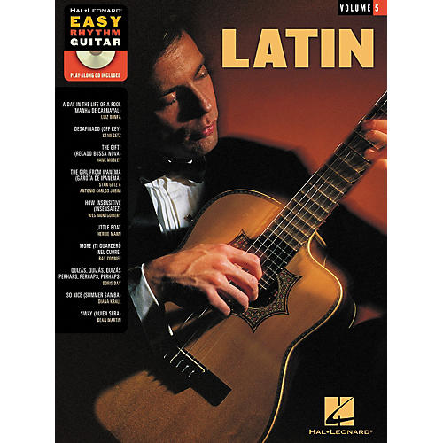 Hal Leonard Latin - Easy Rhythm Guitar Series Volume 5 Book/CD