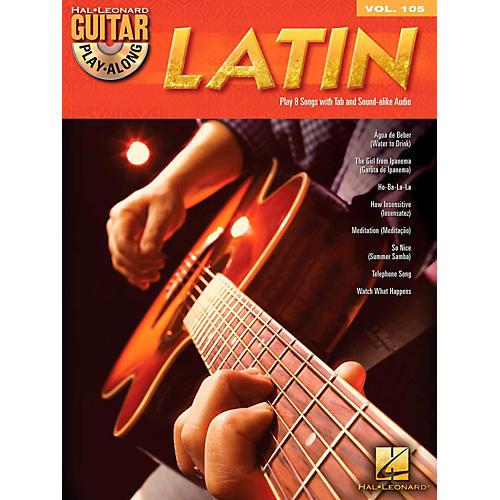Hal Leonard Latin - Guitar Play-Along Volume 105 Book/CD-thumbnail