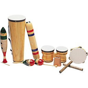 Rhythm Band Latin-American 8-Piece Junior Set by Rhythm Band