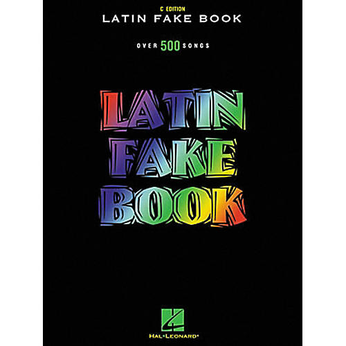 Hal Leonard Latin Fake Book