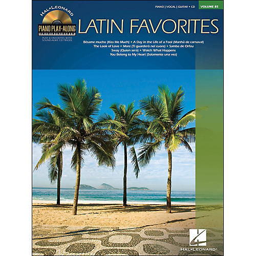 Hal Leonard Latin Favorites - Piano Play-Along Volume 85 (CD/Pkg) arranged for piano, vocal, and guitar (P/V/G)-thumbnail