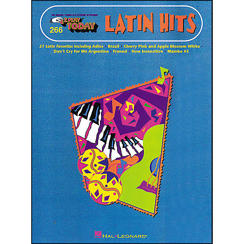 Hal Leonard Latin Hits E-Z Play 266-thumbnail