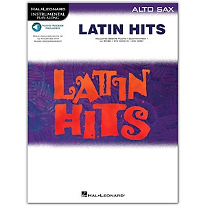 Hal Leonard Latin Hits for Alto Saxophone Book/Online Audio