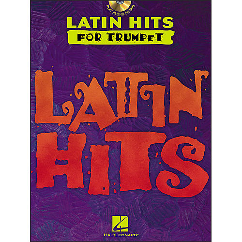 Hal Leonard Latin Hits for Trumpet Book/CD