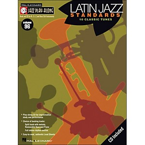 Hal Leonard Latin Jazz Standards - Jazz Play-Along Volume 96 CD/Pkg by Hal Leonard