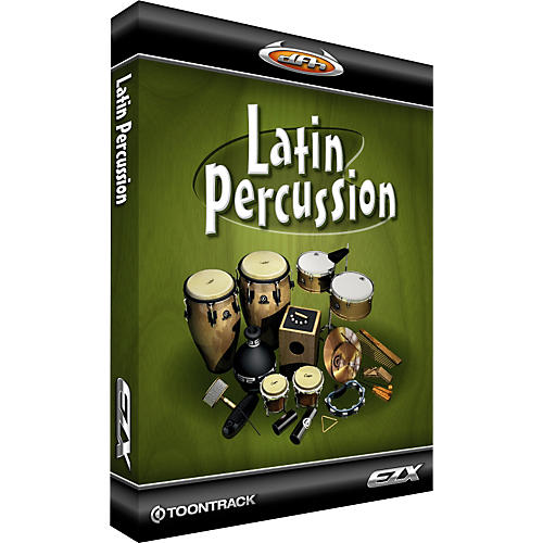 Toontrack Latin Percussion EZX Software Download