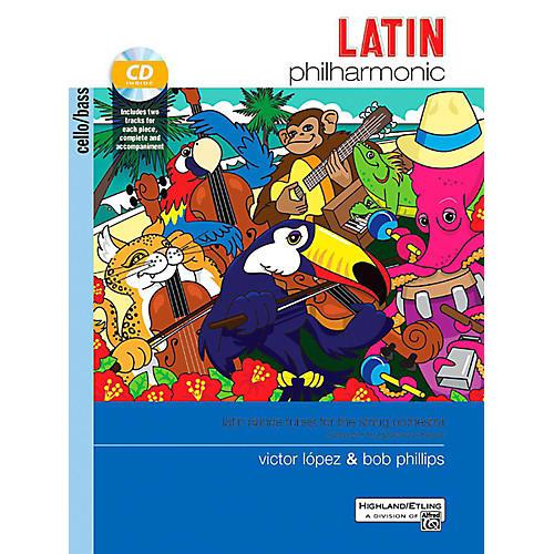 Alfred Latin Philharmonic - Cello/Bass Book & CD