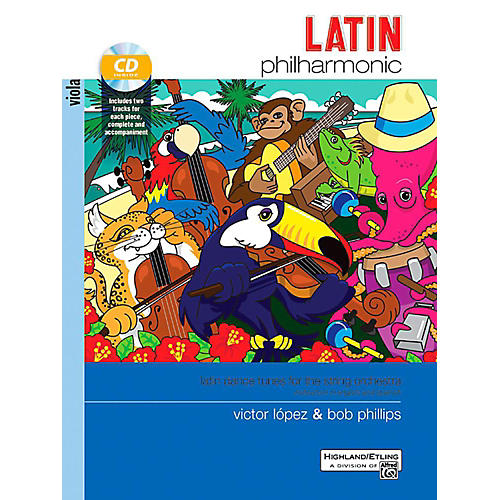 Alfred Latin Philharmonic - Viola Book & CD