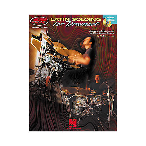 Hal Leonard Latin Soloing for Drumset Book/CD-thumbnail