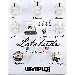 Wampler Latitude Deluxe Tremolo Pedal by