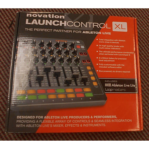 Novation Launch Control XL MIDI Controller-thumbnail