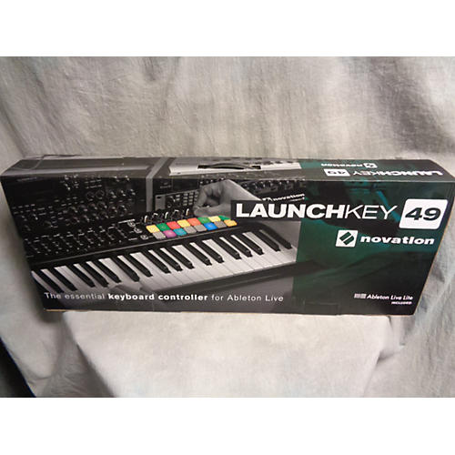 used novation launchkey 49 key midi controller guitar center. Black Bedroom Furniture Sets. Home Design Ideas