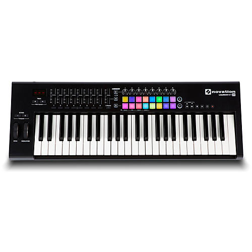 novation launchkey 49 midi controller guitar center. Black Bedroom Furniture Sets. Home Design Ideas