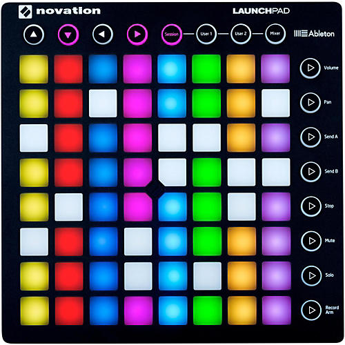 how to use a novation launchpad