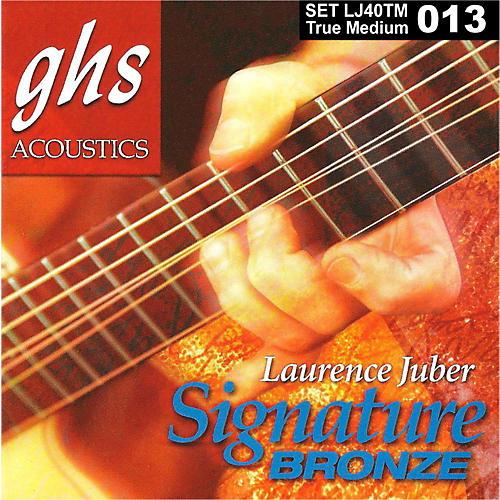GHS Laurence Juber Signature Bronze True Medium Acoustic Guitar Strings-thumbnail