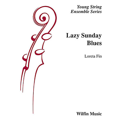 Alfred Lazy Sunday Blues String Orchestra Grade 2 Set-thumbnail