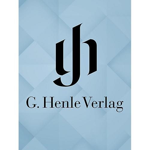 G. Henle Verlag Le Pescatrici - Dramma Giocoso Henle Edition Series Softcover