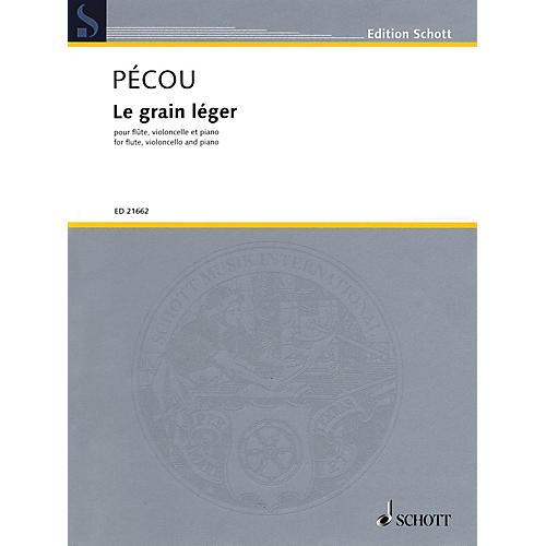 Schott Le grain léger Ensemble Series Softcover Composed by Thierry Pécou