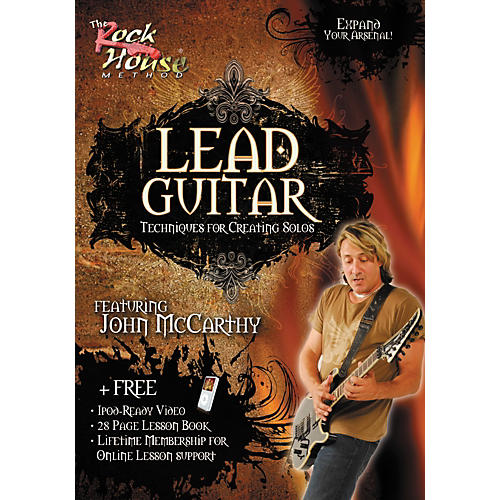 Rock House Lead Guitar-Techniques for Creating Solos, Featuring John McCarthy (DVD)-thumbnail